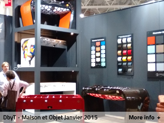 The experience dbyt debuchy by toulet 39 s foosball - Maison et objet janvier 2015 ...