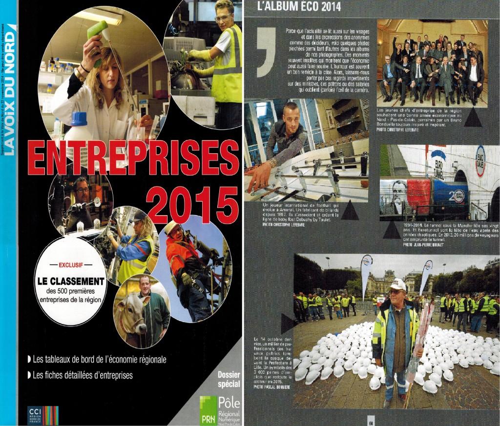 Entreprises 2014