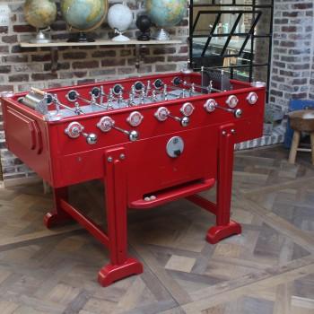 baby foot vintage rouge
