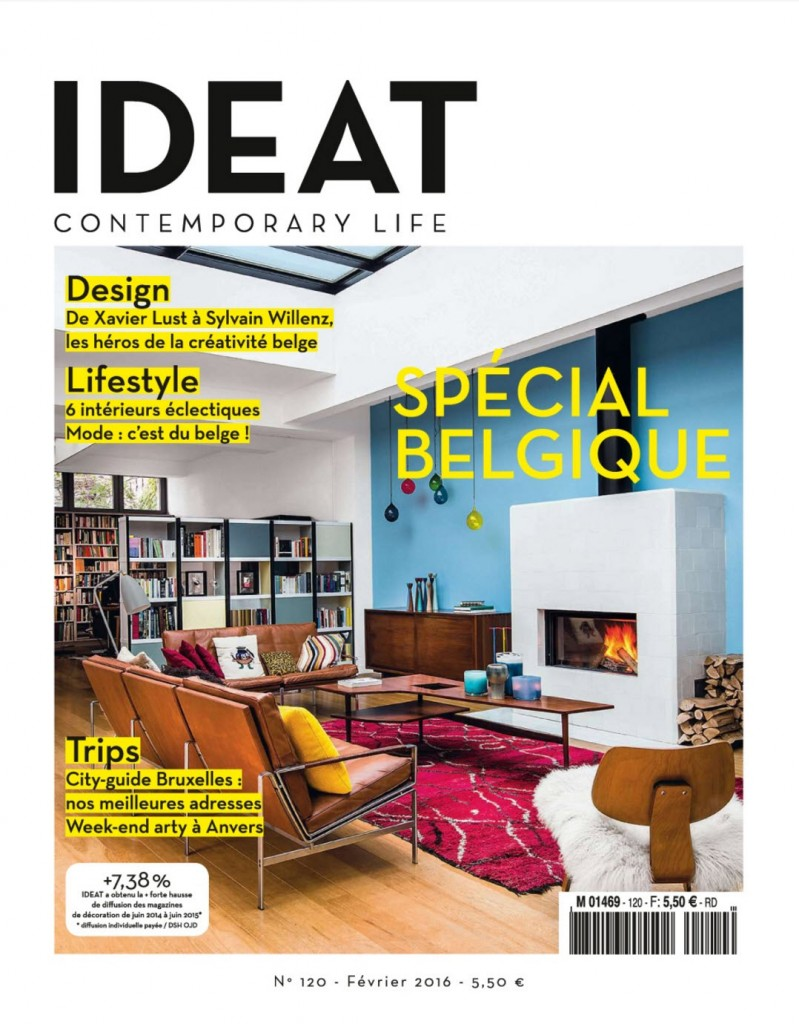The foosball The Pure in IDEAT magazine – february 2015